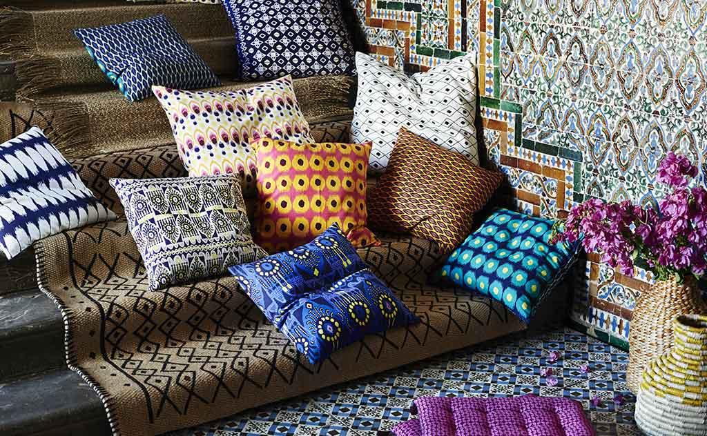 Arredo casa stile Gipsy cuscini