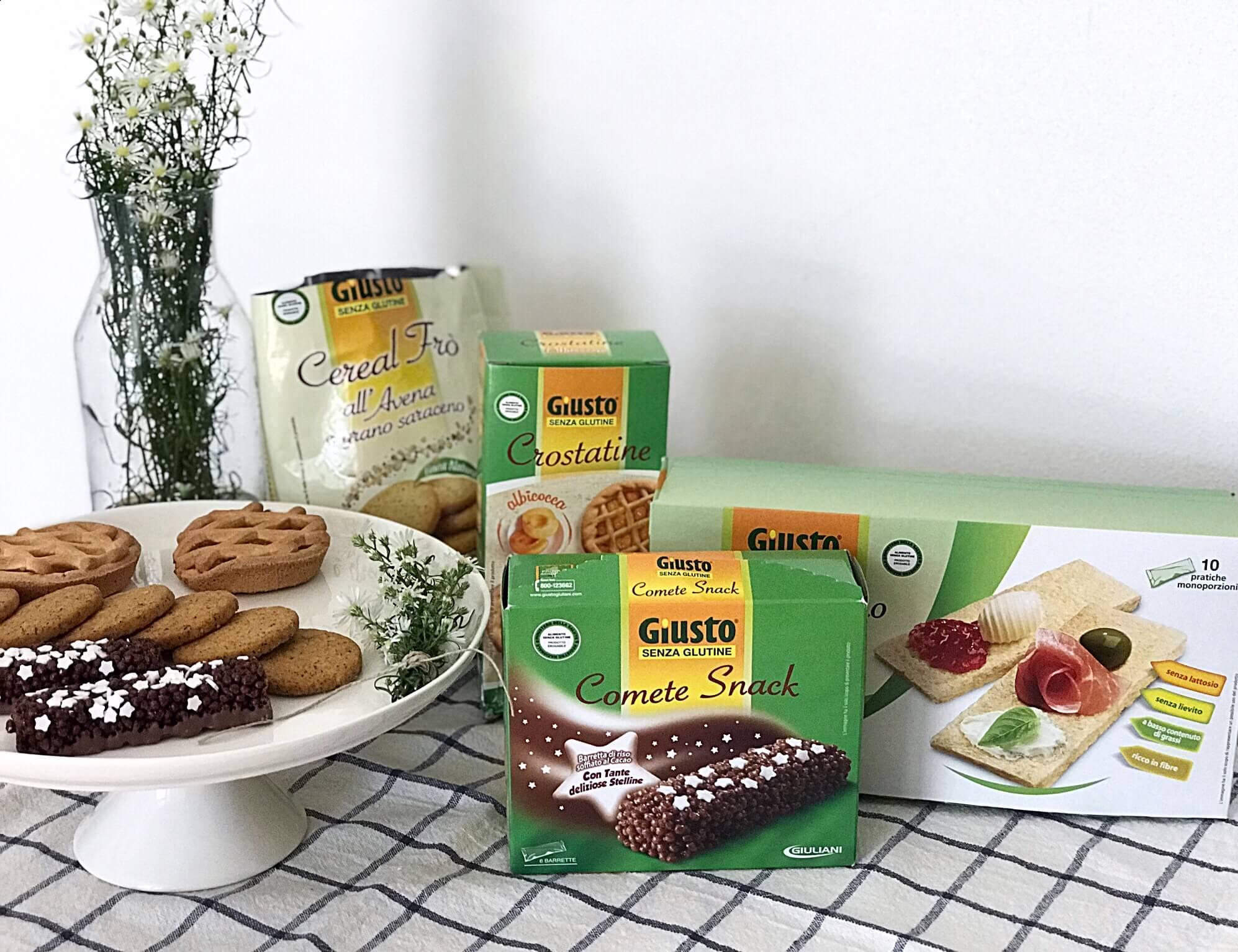 Prodotti alimentari senza glutine
