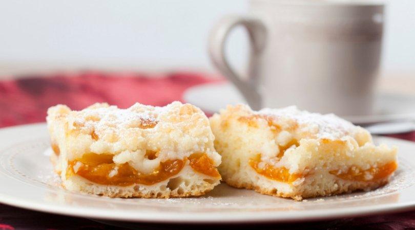 Torta crumble albicocche ricetta