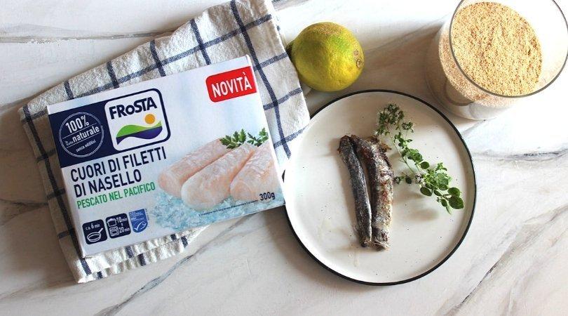 Ingredienti ricetta nasello alla palermitana