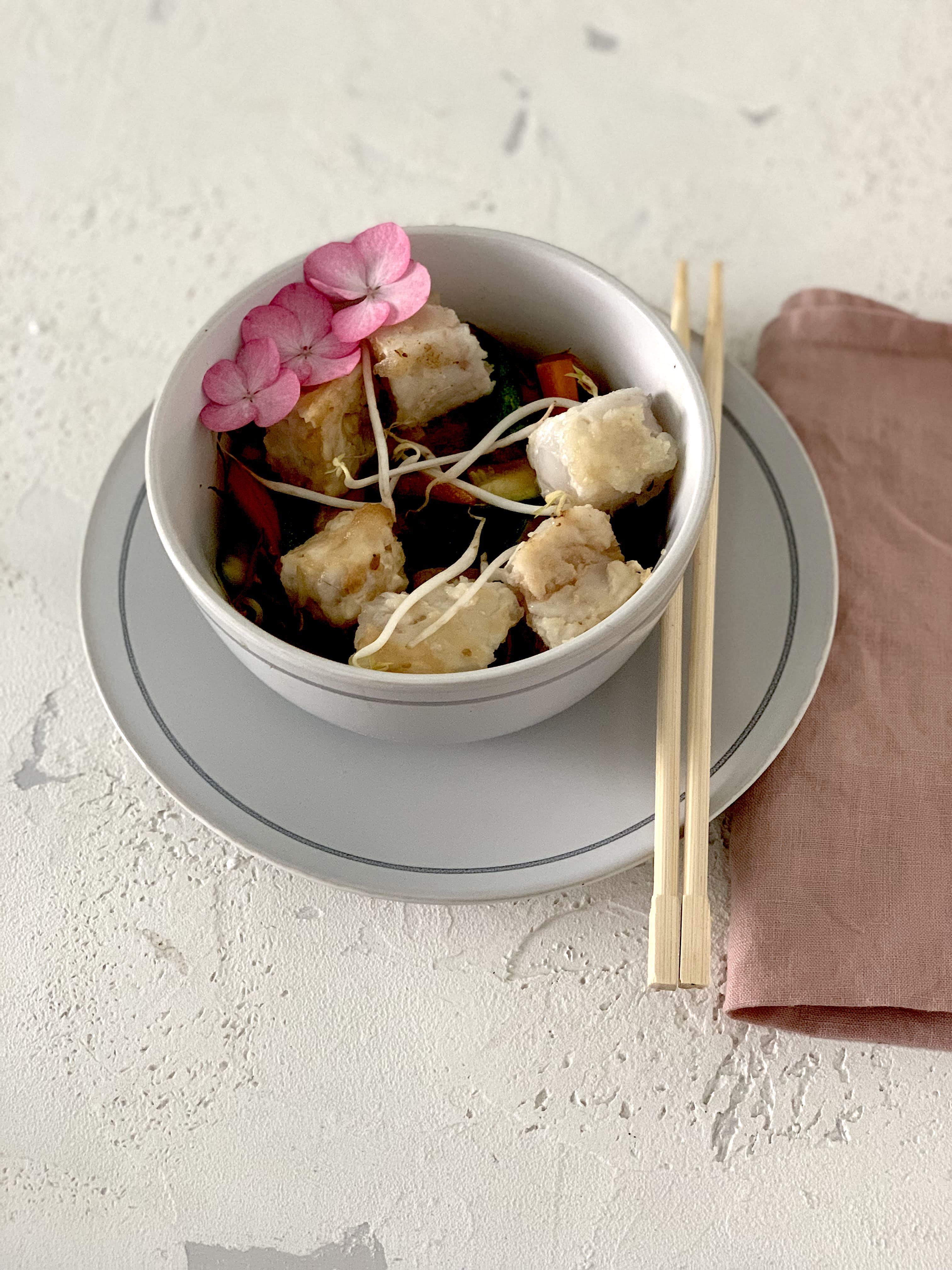 Ricetta cinese bocconcini merluzzo