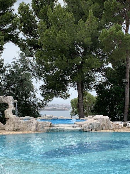 piscina Sicilia sul mare