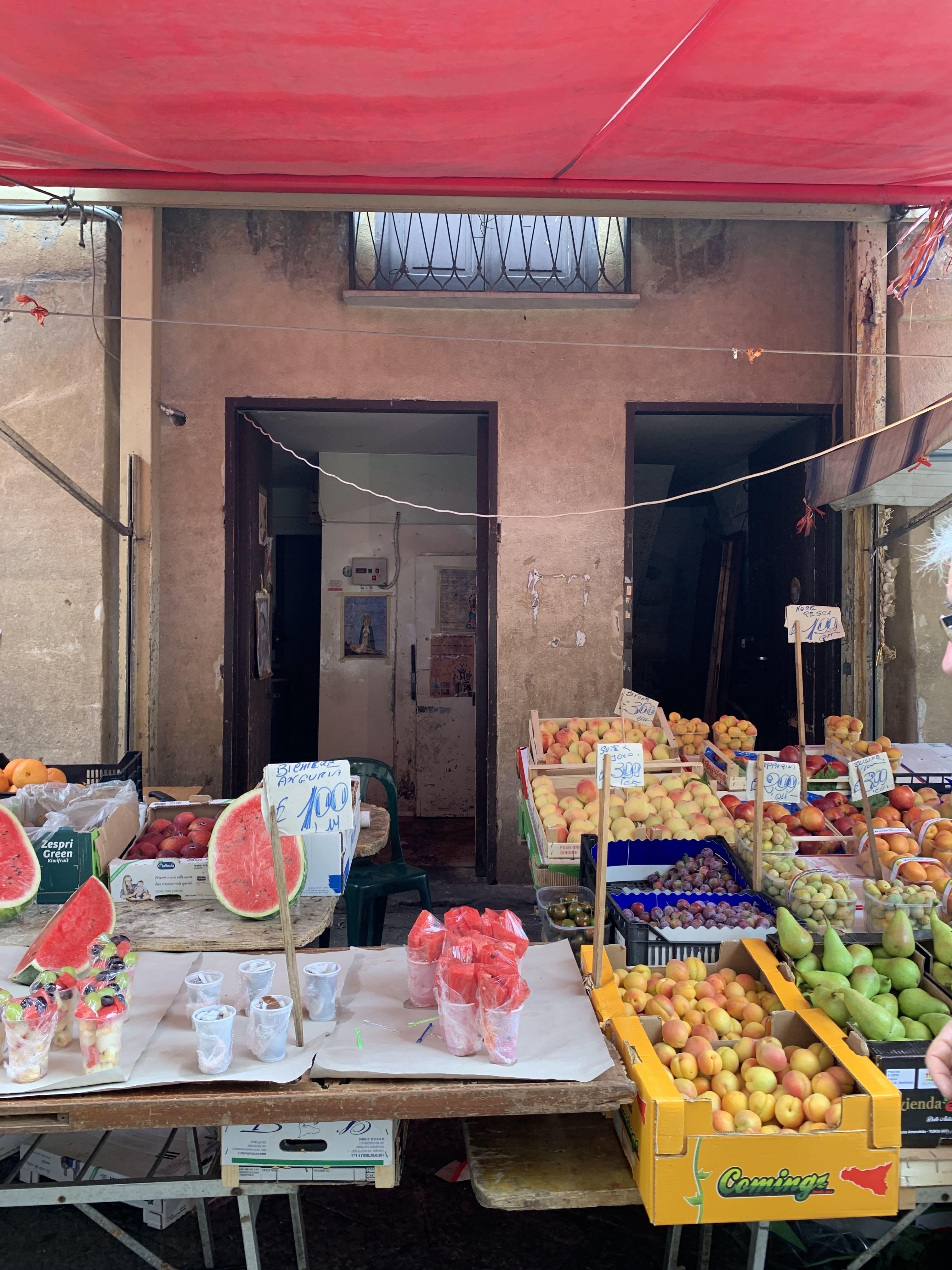 Palermo mercato del capo