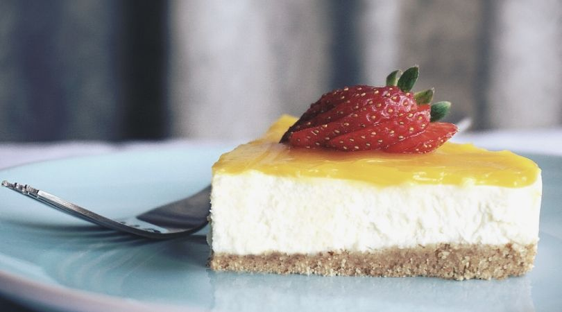 cheesecake ai cachi gluten free