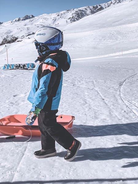 bambini sciare alto adige